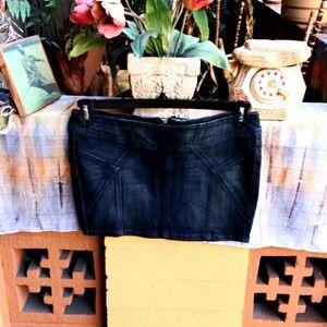 Jessica Simpson Mini Jean Skirt